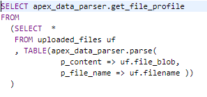 Loading Excel into APEX 19 1 – Explorer UK